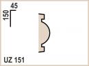 Фасадный узор UZ151